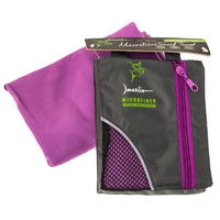 Полотенце Marlin Microfiber Travel Towel Dark Purple